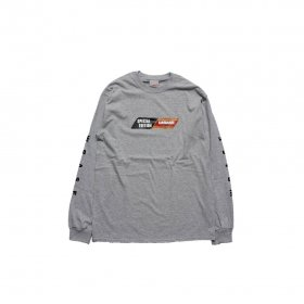 W-BASE SPECIAL EDITION LS TEE GREY