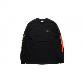 W-BASE LIGHTNING LS TEE BLACK
