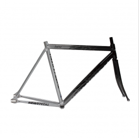 THE HEAVY PEDAL  ZEPHYR TRACK  SILVER