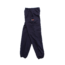 W-BASE PROJECT LOGO SWEAT PANTS NAVY