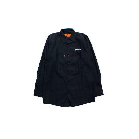 W-BASE ARCH LOGO WORK SHIRTS NAVY