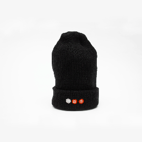 W-BASE PROJECT LOGO BEANIE BLACK