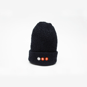 W-BASE PROJECT LOGO BEANIE NAVY