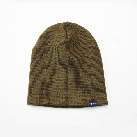 PANCAKE - SINGLE BEANIE - OLIVE