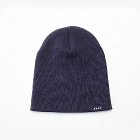 PANCAKE - SINGLE BEANIE - NAVY