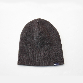 PANCAKE SINGLE BEANIE CHARCOAL