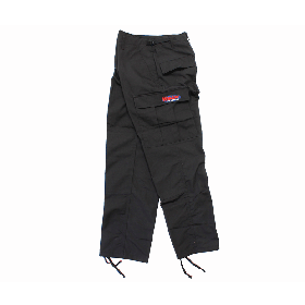 W-BASE OVAL LOGO PATCH BDU PANTS BLACK