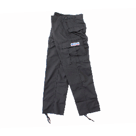 W-BASE CONVOY PATCH BDU PANTS BLACK