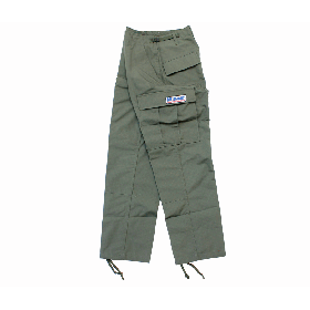 W-BASE CONVOY PATCH BDU PANTS KHAKI