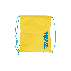CRANK x W-BASE KIDS KNAPSACK YELLOW/BLUE