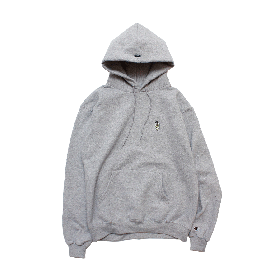 W-BASE BEER DUDE PULLOVER HOODIE GREY