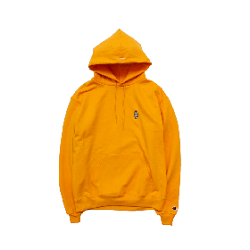 W-BASE BEER DUDE PULLOVER HOODIE YELLOW