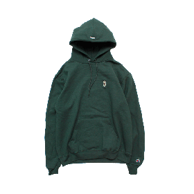 W-BASE BEER DUDE PULLOVER HOODIE GREEN
