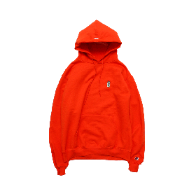 W-BASE BEER DUDE PULLOVER HOODIE ORANGE