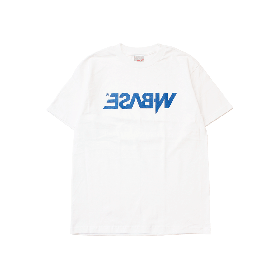 W-BASE MIRROR OG LOGO TEE WHITE