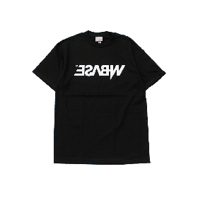 W-BASE MIRROR OG LOGO TEE BLACK
