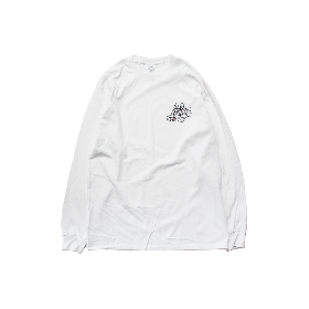 BGM PS L/S TEE WHITE