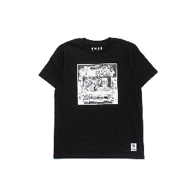 PNCK BOX VAN TEE BLACK