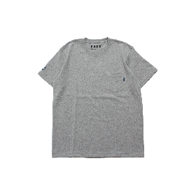 PNCK TEAM LOGO POCKET TEE GREY