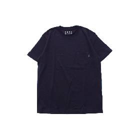 PNCK TEAM LOGO POCKET TEE NAVY