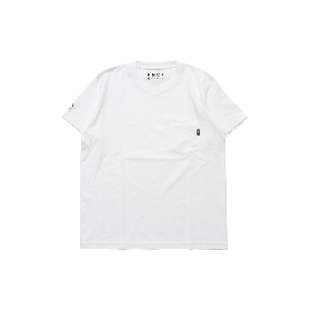 PNCK TEAM LOGO POCKET TEE WHITE
