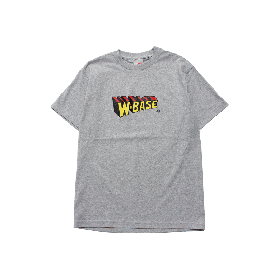 W-BASE WMAN LOGO TEE GREY