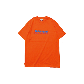 W-BASE CONVOY LOGO TEE ORANGE