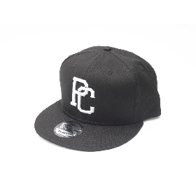 PANCAKE - TEAM LOGO SNAP BACK CAP - BLACK
