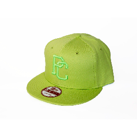 PANCAKE - TEAM LOGO SNAP BACK CAP - FLUORESCENT YELLOW