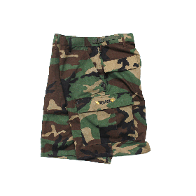 W-BASE OG LOGO BDU SHORTS WOODLAND CAMO