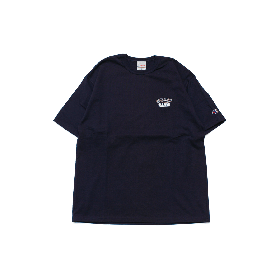W-BASE ATHLETIC LOGO TEE SHIRTS NAVY