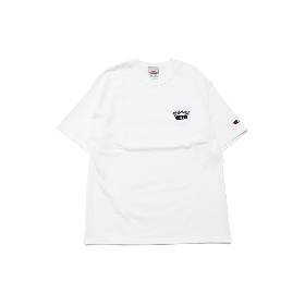 W-BASE ATHLETIC LOGO TEE SHIRTS WHITE