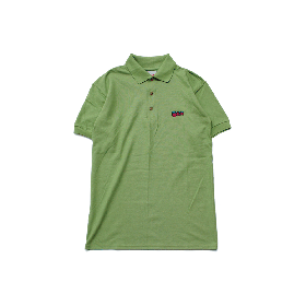 W-BASE WMAN LOGO POLO SHIRTS KIWI