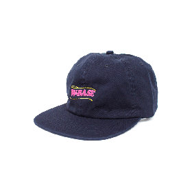 W-BASE WAVE LOGO 6PANNEL CAP NAVY