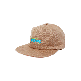 W-BASE WAVE LOGO 6PANNEL CAP BEIGE