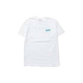 W-BASE WAVE LOGO TEE WHITE