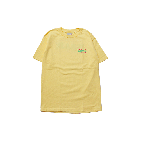 W-BASE WAVE LOGO TEE BANANA