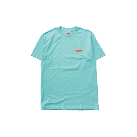 W-BASE WAVE LOGO TEE CELADON