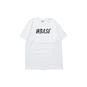 W-BASE TEAM LOGO TEE WHITE