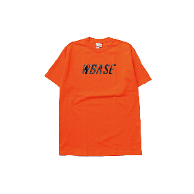 W-BASE TEAM LOGO TEE ORANGE