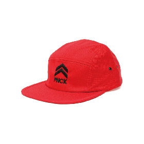 PANCAKE - ICON 5PANNEL CAP RED