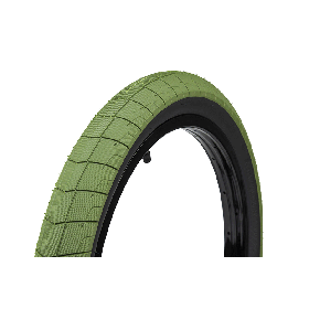 ECLAT FIREBALL TIRE GREEN / BLACK WALL 2.4