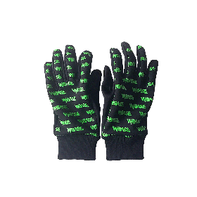 W-BASE SMALL OG LOGO GLOVE BLACK/NEON GREEN