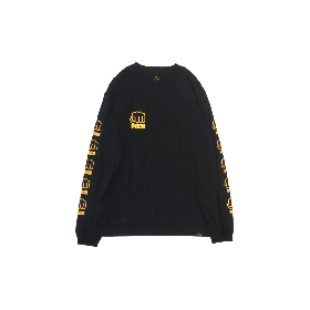 PNCK L.F.L LONG SLEEVE TEE BLACK