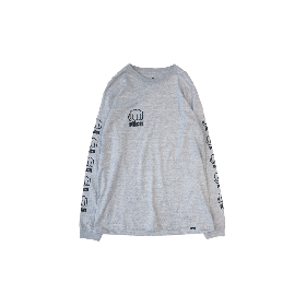PNCK L.F.L LONG SLEEVE TEE GREY