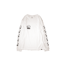 PNCK L.F.L LONG SLEEVE TEE WHITE
