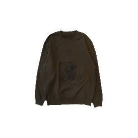PNCK SCOOT CREW NECK SWT OLIVE