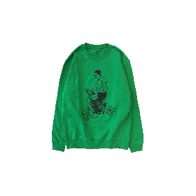 PNCK SCOOT CREW NECK SWT GREEN