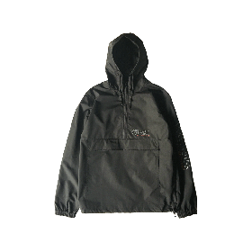 W-BASE ANORAK JKT BLACK