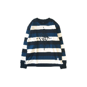 PNCK BOADER CREW NECK SWEAT NAVY